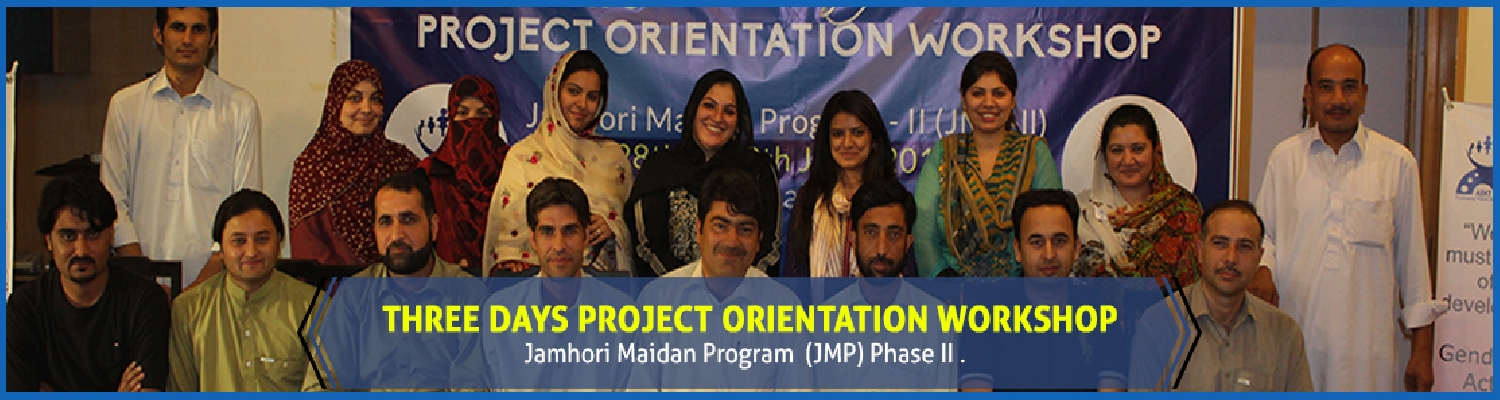 Three days project orientation workshop